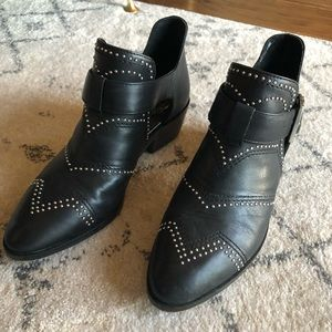 Vince Camuto Studded Booties
